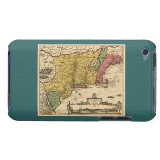 1685 mapa - nueva Bélgica el nuevo mundo Nueva I iPod Case-Mate Protector