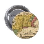 1685 mapa - nueva Bélgica, el nuevo mundo, Nueva I Pins