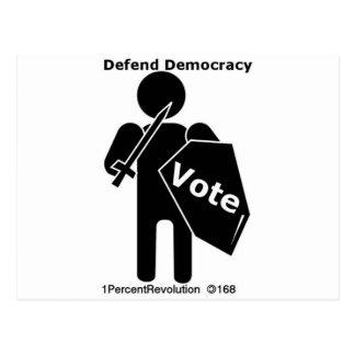 168 Stand Vote Postcard
