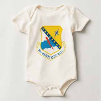 168th Air Refueling Wing Baby Bodysuit