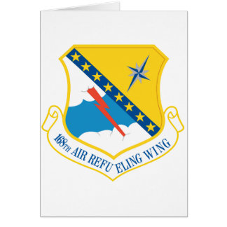 168th Air Refueling Wing Greeting Card