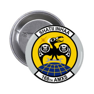 168th Aircraft Maintenance Squadron Pinback Button
