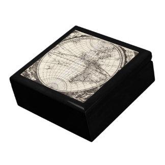 1696 Zahn Map I Jewelry Box