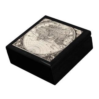 1696 Zahn Map II Keepsake Box