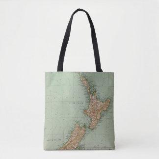 169 New Zealand, Hawaii, Tasmania Tote Bag