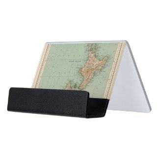 169 Nueva Zelanda, Hawaii, Tasmania Caja De Tarjetas De Visita Para Escritorio