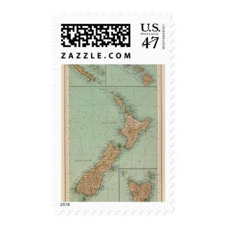 169 Nueva Zelanda, Hawaii, Tasmania Estampilla