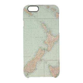 169 Nueva Zelanda, Hawaii, Tasmania Funda Clear Para iPhone 6/6S