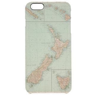 169 Nueva Zelanda, Hawaii, Tasmania Funda Clear Para iPhone 6 Plus