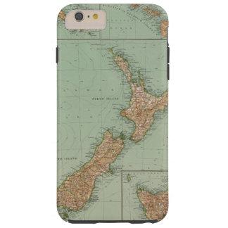 169 Nueva Zelanda, Hawaii, Tasmania Funda Resistente iPhone 6 Plus