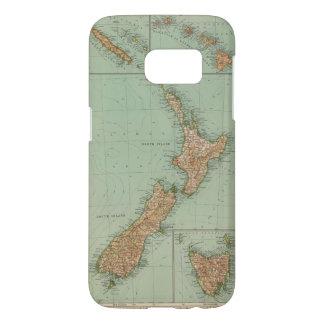 169 Nueva Zelanda, Hawaii, Tasmania Funda Samsung Galaxy S7