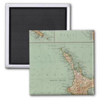 169 Nueva Zelanda, Hawaii, Tasmania Imán Cuadrado