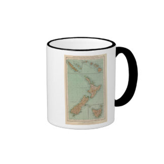 169 Nueva Zelanda, Hawaii, Tasmania Taza De Dos Colores