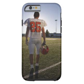 (16-17) jugador de fútbol americano adolescente funda resistente iPhone 6