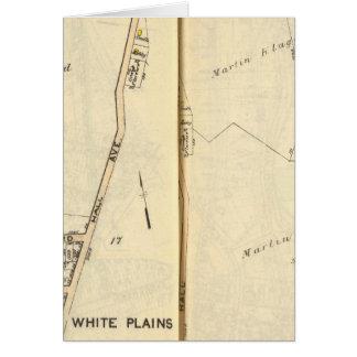 16-17 White Plains Tarjeta De Felicitación