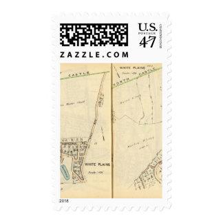 16-17 White Plains Timbres Postales