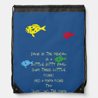 $ 16.95 / €  13.10  Kid's backpack 3 little fish