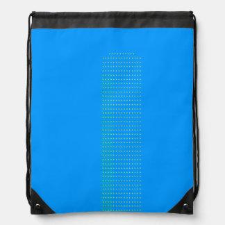 $ 16.95 / €  13.10 Kid's blue confetti stringbag Drawstring Bag