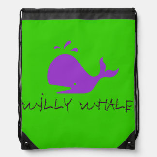 $ 16.95/ € 13.10  Kid's Willy Whale Drawstring Bag