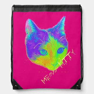 $ 16.95 / €  13.10 Meow Kitty children's Backback Drawstring Bag