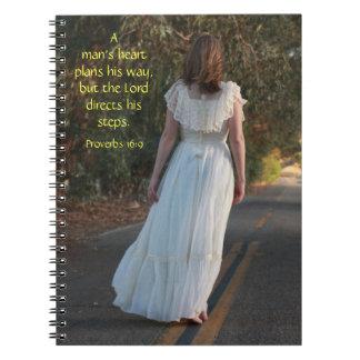16:9 de los proverbios el cuaderno del camino a
