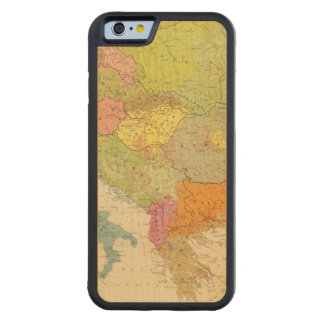 16 a European ethnographic Carved Maple iPhone 6 Bumper Case