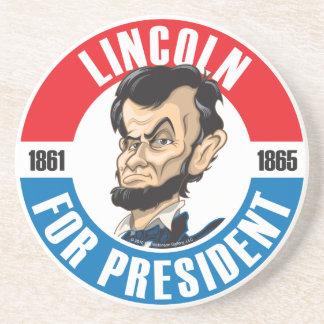 #16 Abraham Lincoln Campaign Coaster