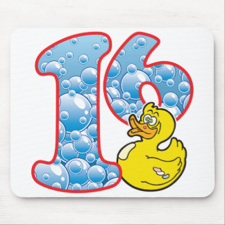 16 Age Duck Mouse Pad