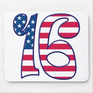 16 Age USA Mouse Pad