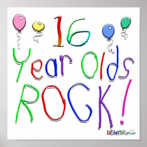 ¡16 años de la roca! póster