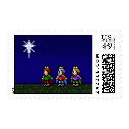 16-Bit Nativity Stamp