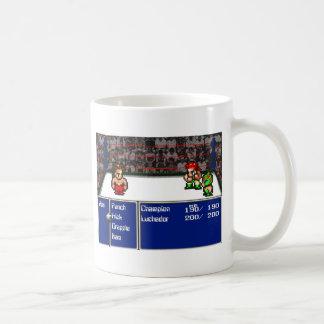 16 bit RPG Wrestling Coffee Mug