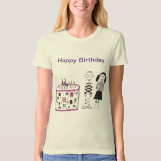 16 candles on my cake t-shirt