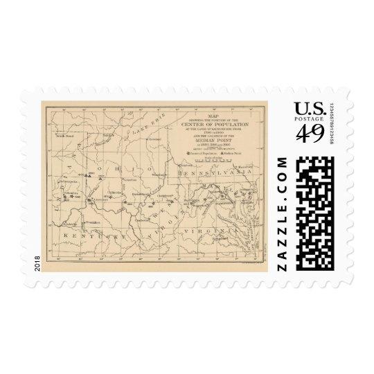 16 Center of population 17901900 Postage