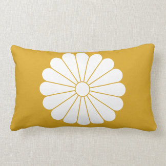 16 chrysanthemum lumbar pillow