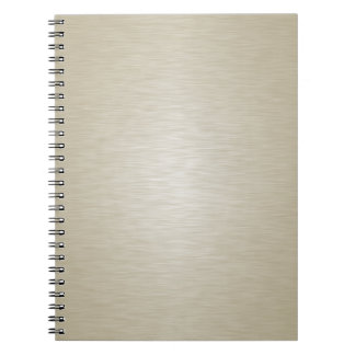 16 Color Choices - Silk Look Pattern Notebook