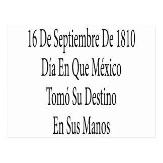 16 De Septiembre De 1810 Post Card