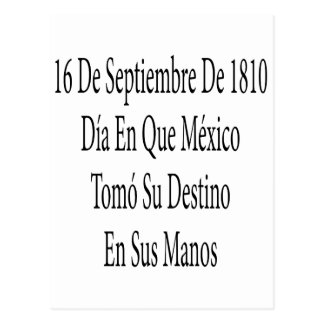 16 De Septiembre De 1810 Postcard