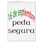 16 De Septiembre Peda Segura Felicitación