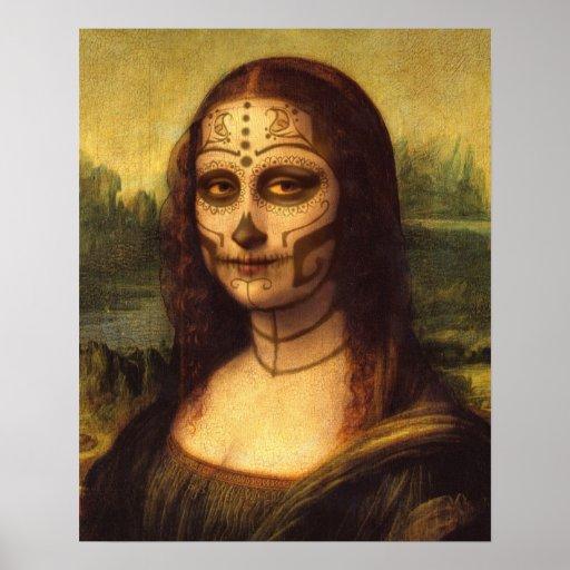 """16"""" día de X20"""" Mona Lisa del poster muerto"""