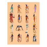 16 dioses tarjeta postal