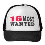 16 diseños divertidos más deseados del cumpleaños gorra