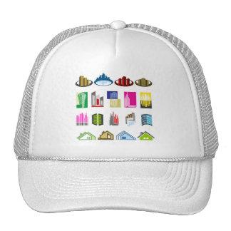 16-Free-Real-Estate-Vector-Logo-types Trucker Hat
