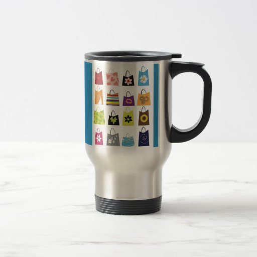 16 Free Vector Shopping Bags Coffee Mug