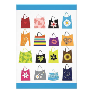 16 Free Vector Shopping Bags Custom Invites