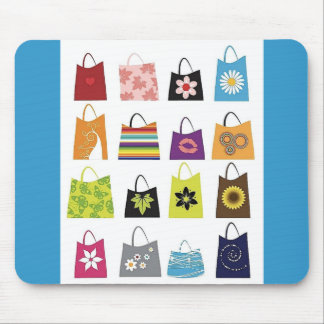 16 Free Vector Shopping Bags Mouse Pad