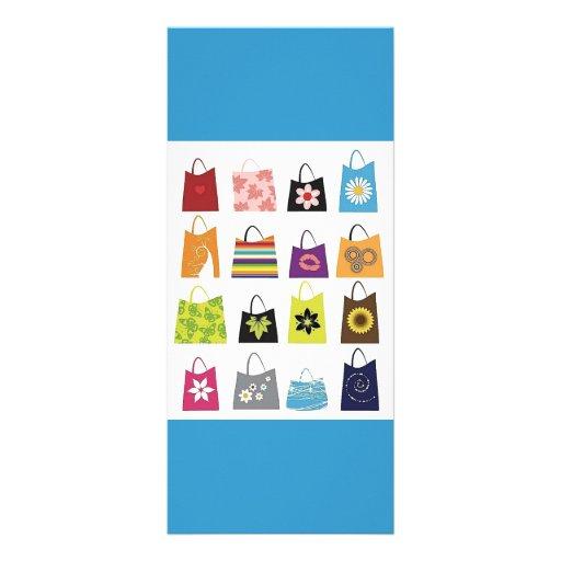 16 Free Vector Shopping Bags Rack Card Design
