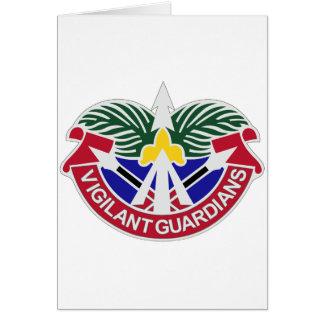 16 grupos de la artillería de la defensa aérea tarjeta de felicitación