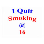 16 I Quit Smoking Post Cards
