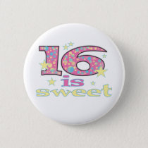 16 is Sweet Button